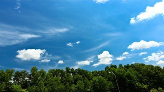 Thumbnail for Tropical Blue Sky Time Lapse I