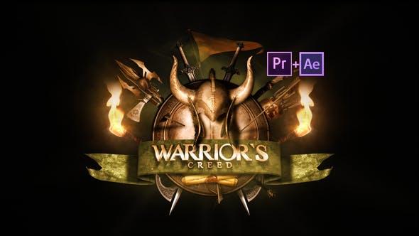Epic Warrior Logo
