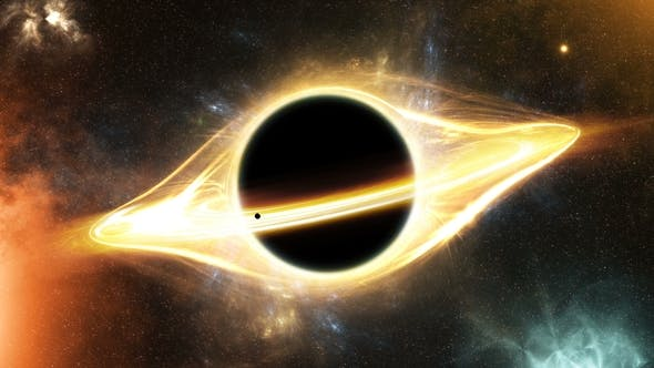 Thumbnail for Light Around a Black Hole in Space and a Planet That Tightens Into a Black Hole