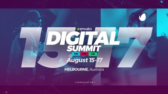 Digital Summit // Event Promo