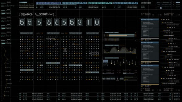 Futuristic Cyber Crime User Interface