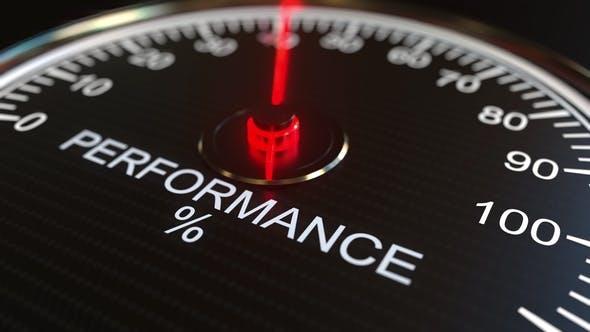 Performance Meter or Indicator