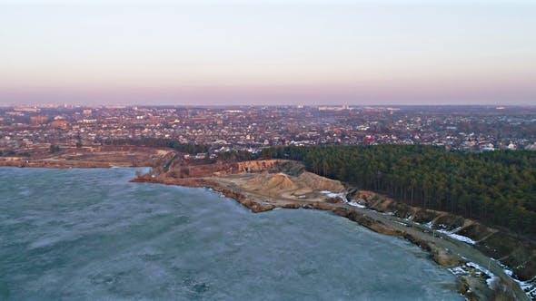 Thumbnail for Shot of Frozen Lake
