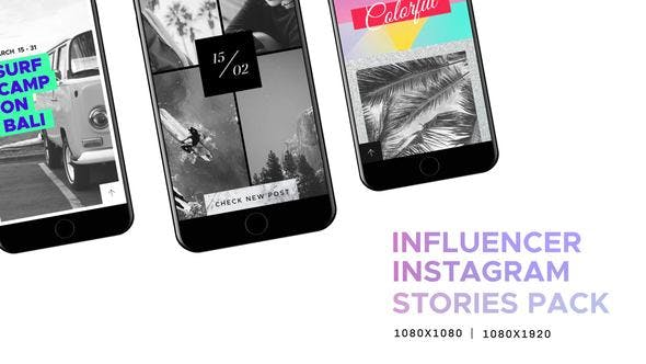 Thumbnail for Influencer // Social Media - Instagram Stories Pack