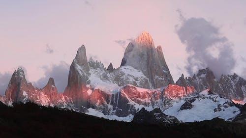 Mount Fitz Roy at Dawn Argentina, Patagonia.