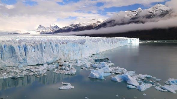 Thumbnail for Glacier Perito Moreno National Park in Autumn. Argentina, Patagonia