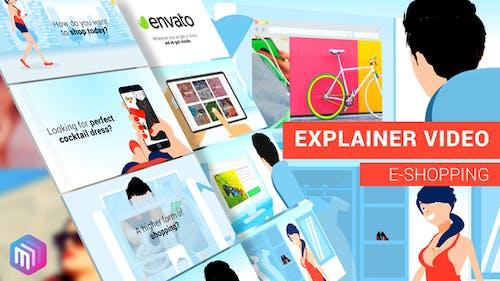 Explainer Video    E-Commerce, APP, Online Services Version