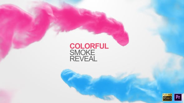 Thumbnail for Colorful Smoke Reveal - Premiere Pro
