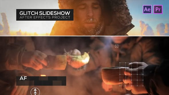 Thumbnail for Слайд-шоу Glitch