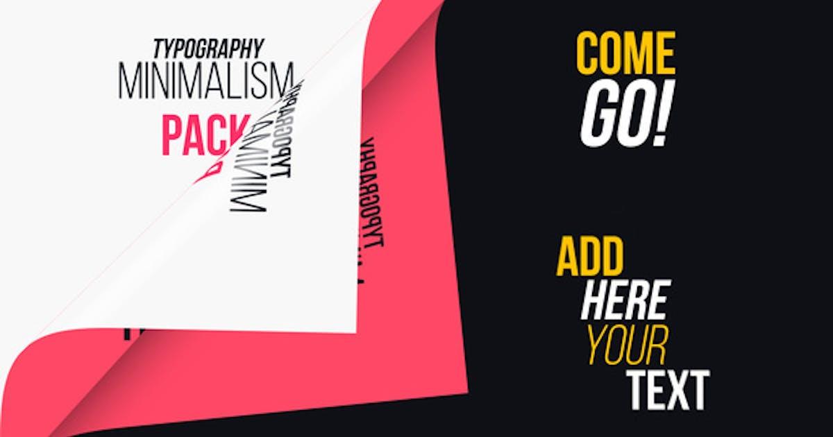 Download Minimalism Typography by aniom