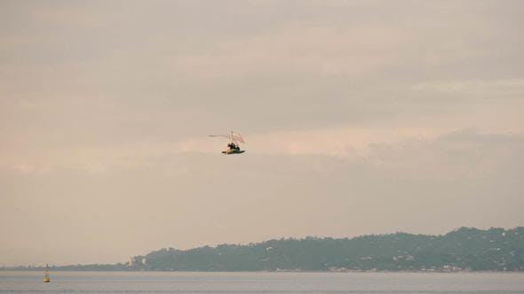 Thumbnail for Hang-gliding Over the Black Sea, Georgia