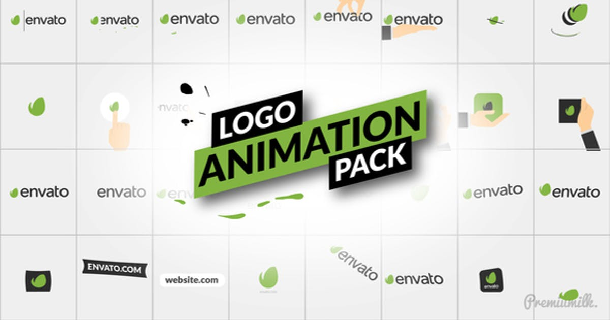 Download Logo Animation Pack by Premiumilk