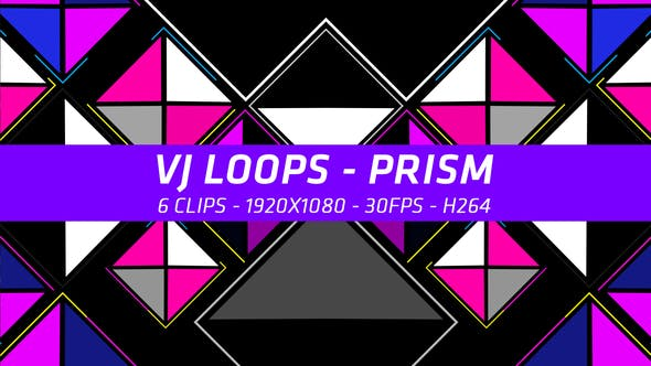 Thumbnail for VJ Loops - Prism