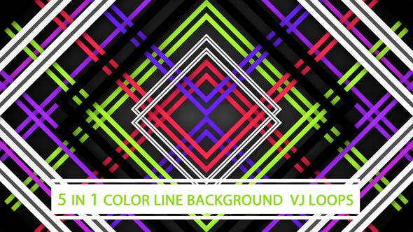 Thumbnail for Color Line Background