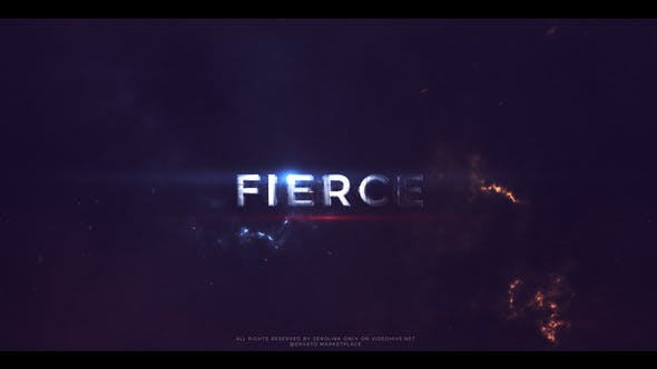 Thumbnail for Fierce - Action Trailer Titles