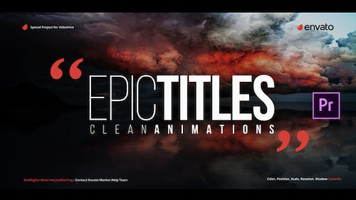 Epic Titles for Premiere