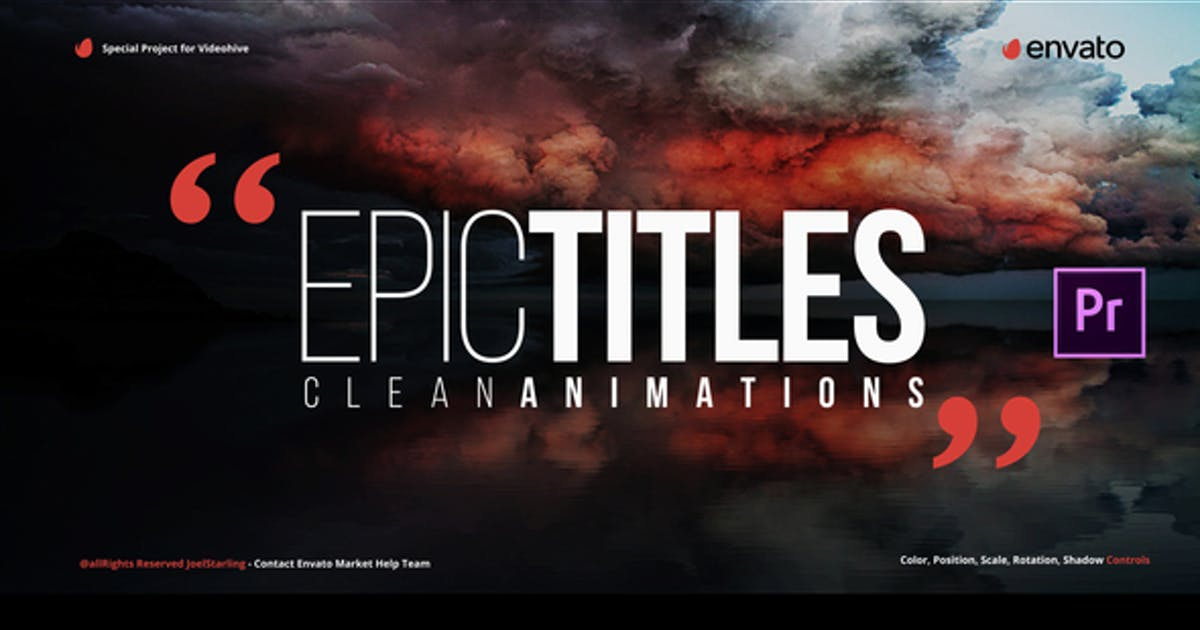 Download Epic Titles for Premiere by JoelStarling