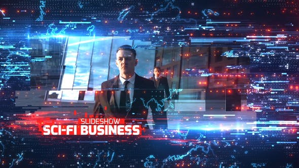 Cover Image for Sci-Fi Business Slideshow