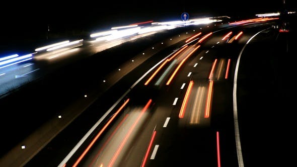 Thumbnail for Highway Traffic Cars at Night