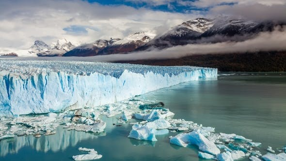 Thumbnail for Glacier Perito Moreno National Park in Autumn. Argentina, Patagonia