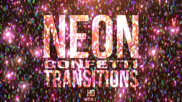 Thumbnail for Neon Confetti Transitions