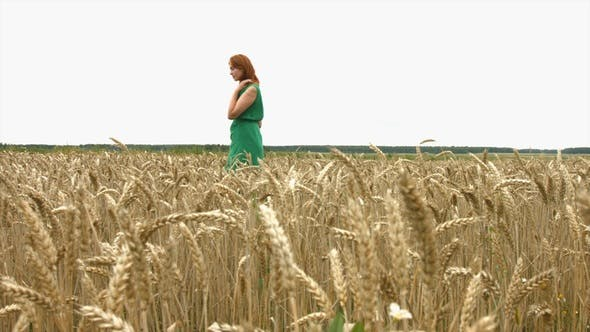 Thumbnail for Girl on Wheat Field