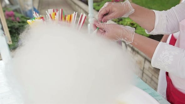 Making of Cotton Candy