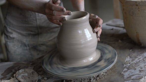 Thumbnail for Master Class on Modeling of Clay on a Potter's Wheel