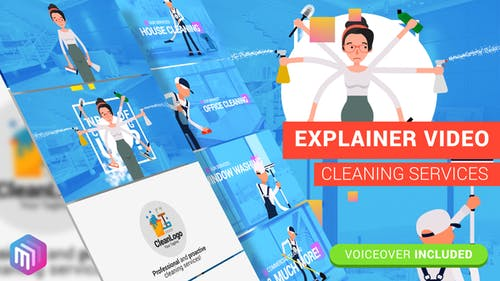 Edit Explainer Video   Cleaning Services