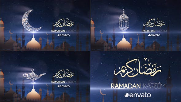 Thumbnail for Ramadan Kareem | After Effects Modèle