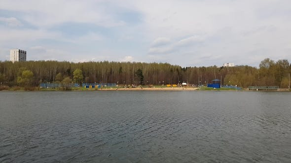 Thumbnail for Pond with Beach in Moscow, Russia