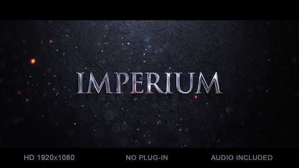 Thumbnail for Logo et titre épique