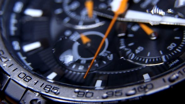 Thumbnail for Classic Chronograph Wristwatch 0590
