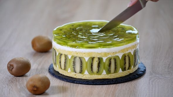 Thumbnail for Cut a Piece of Kiwi Cake