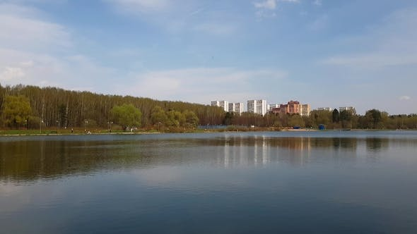 Thumbnail for School Lake in Zelenograd Administrative District of Moscow, Russia