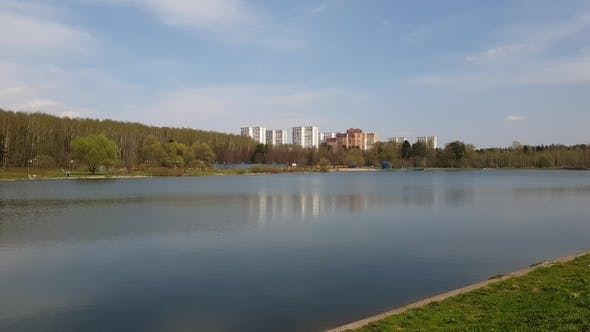 Thumbnail for Lake in Zelenograd Administrative District of Moscow, Russia