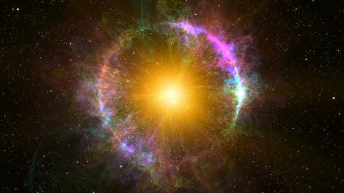 4K Fly into Planetary Nebula