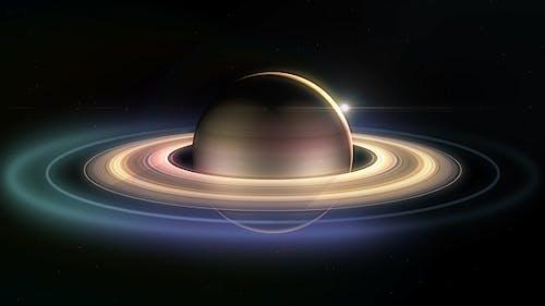 4K Saturn Eclipse