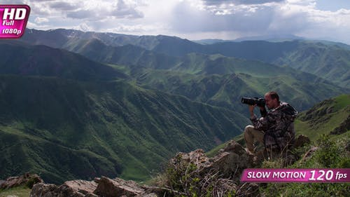 Photographing in the Mountains
