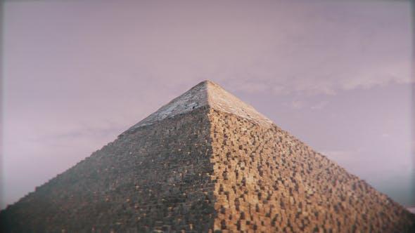 4K Great Pyramid of Giza Orbit Seamless Loop