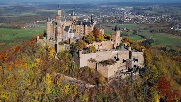 Thumbnail for Aerial View of Hohenzollern Castle, Germany