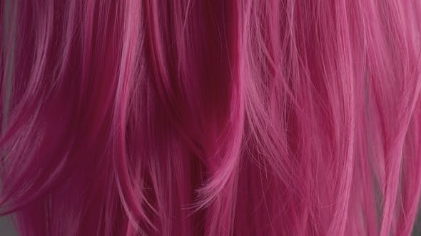 Thumbnail for Pink Creative Color Hair Texture