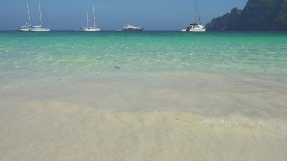 Thumbnail for Beautiful Sea Beach with White Sand