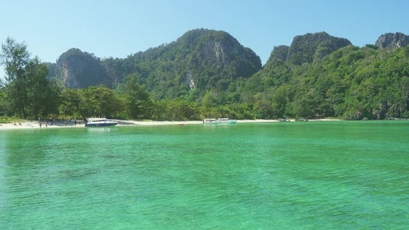 Thumbnail for Beautiful Beach with White Sand on Phi Phi Island
