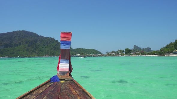 Thumbnail for Floating on Boat in Bay of Phi Phi Don Island