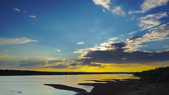 Thumbnail for River Sunset Landscape