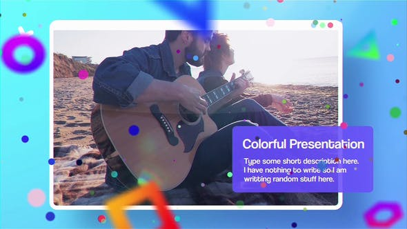 Thumbnail for Colorful Presentation