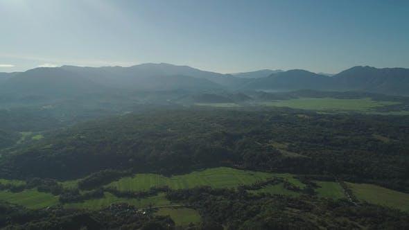 Thumbnail for Mountain Landscape at sunrise.Philippines, Luzon