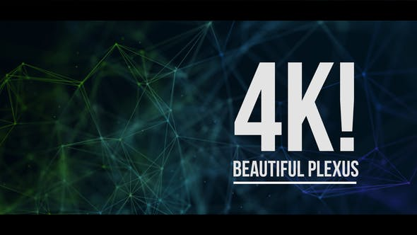 Thumbnail for 4K Beautiful Plexus