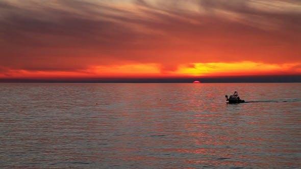 Thumbnail for Seascape Sunset